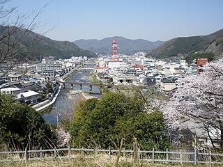 Niimi City in Chūgoku, Japan