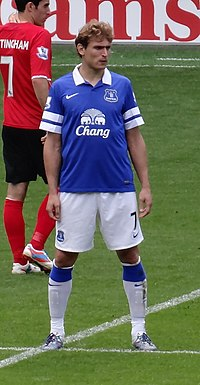 765c0a9fc Jelavić playing for Everton in 2013.