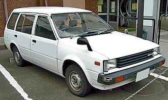 Nissan AD - Image: Nissan Advan 1985