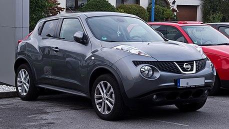 Nissan Juke – Frontansicht, 13. September 2012, Velbert.jpg