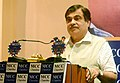 Nitin Gadkari addressing during the special session on 'Enhancing Connectivity Across Eastern India – Key to Economic Growth', organised by MCC Chamber of Commerce & Industry, in Kolkata on December 01, 2015.jpg