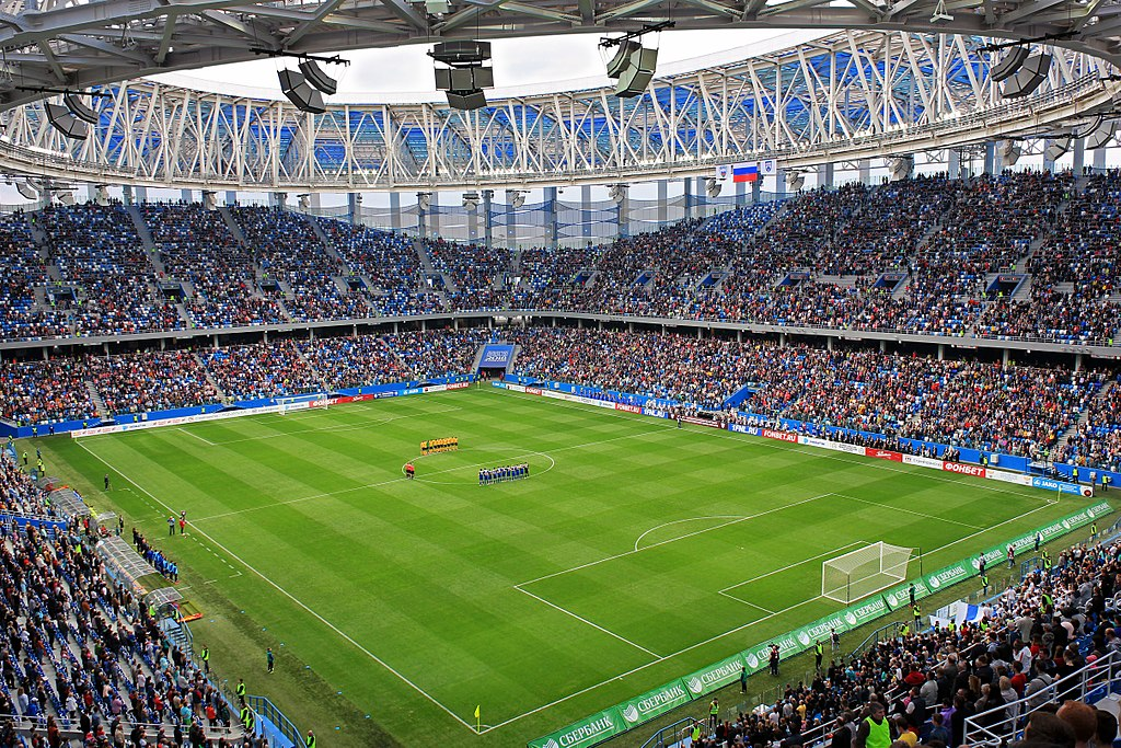 Nizhny Novgorod Stadium (06 May 2018)