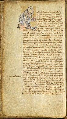 Image du manuscrit médiéval intitulé Commentariorum in Somnium Scipionis de Macrobe