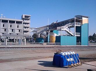 Corona–North Main station - North Main Corona, circa 2009