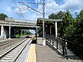 Northbound mini-high platform, Kingston Railroad Station.JPG
