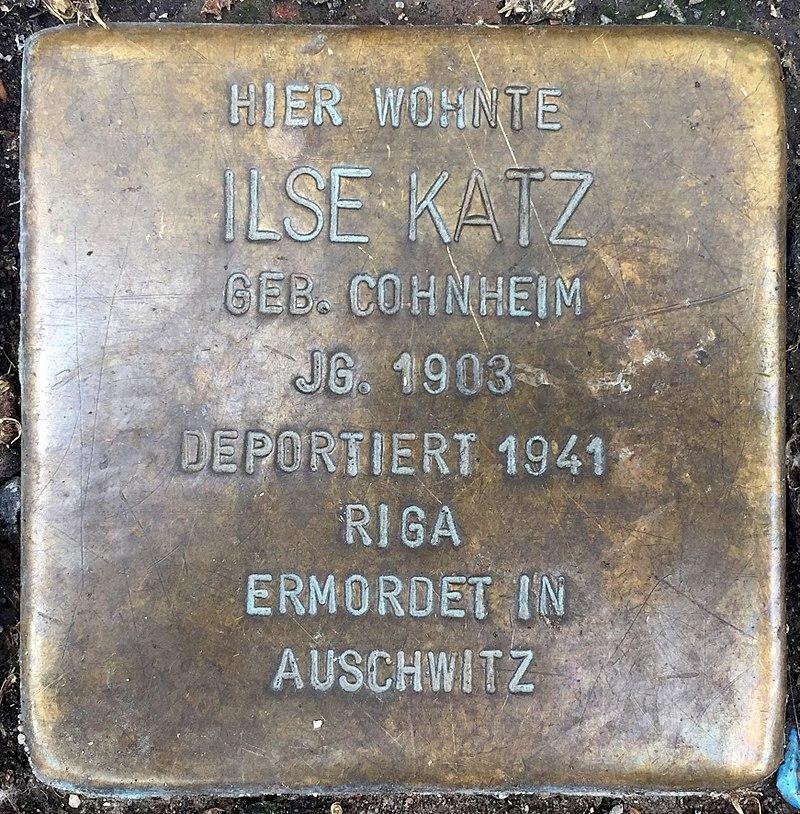 Northeim Stolperstein Ilse Katz.jpg