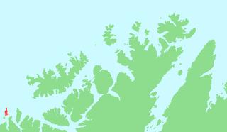 Loppa (island) island in Finnmark, Norway