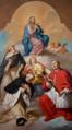 Nossa Senhora da Consolação com Santa Catarina de Alexandria, São Tomás de Aquino, São Goldrofe e São Carlos Borromeu (1757) - André Gonçalves (Misericórdia de Coimbra).png