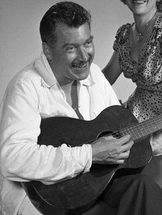 MacKinlay Kantor - Kantor playing the guitar