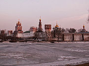 Novodevichy Convent is just one of many medieval monuments that dot the city.