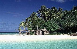 Geography of Tonga - Nuku Island Vava'u
