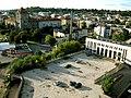 Nuo apleisto pastato į Kauno centrą - panoramio.jpg