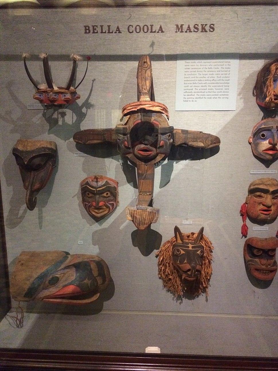 Nuxalk Masks