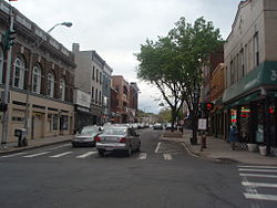 Main Street in Downtown Nyack