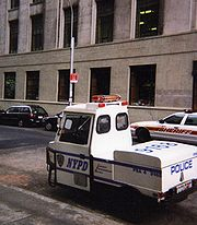 NYPD Parking Enforcement vehicle