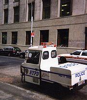 NYPD Parking Enforcement vehicle