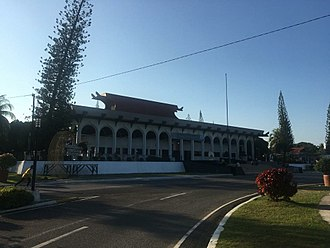 Autonomous Region in Muslim Mindanao - The Office of the Bangsamoro People, the seat of the ARMM regional government in Cotabato City