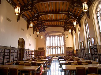 Bizzell Memorial Library - The Great Reading Room in 2006.