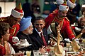 Obama and Manmohan Singh at state dinner.jpg