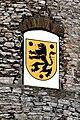 Oelsnitz Schloss Voigtsberg Turm Wappen.jpg