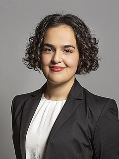 Nadia Whittome British Labour politician
