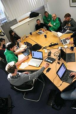 Okwiki16 Im Seminarraum wird gehackt!