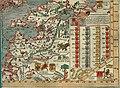 Olaus Magnus' Map of Scandinavia 1539, Section I, Livonia.jpg