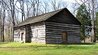 Old Mulkey Meetinghouse - Image: Old mulkey meeting house ky 1