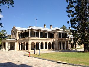 Department of Public Works (Queensland) - Old Government House