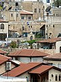 Old Jerusalem Christian Quarter roofs and crosses.jpg
