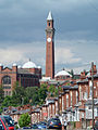 Old Joe and University of Birmingham from Bournbrook.jpg