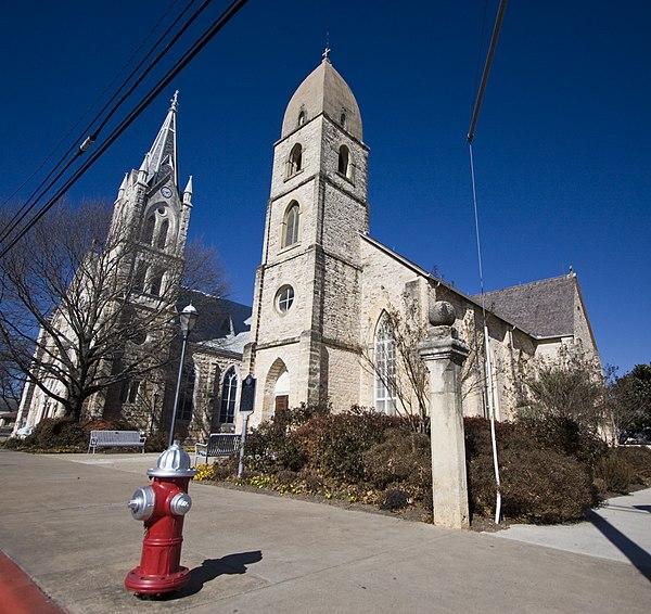 Fredericksburg (TX) United States  City pictures : St. Mary's Catholic Church Fredericksburg, Texas