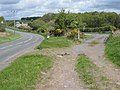 Old and new roads near Causeway End - geograph.org.uk - 435146.jpg
