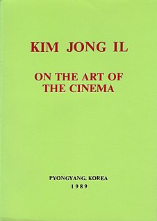 <i>On the Art of the Cinema</i> book by Kim Jong-il