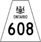 Highway 608 shield