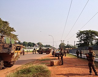 Operation Sangaris military intervention of the French military in the Central African Republic 2013–2016