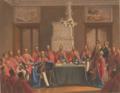 Ordenskapitel, Königsberg. Preußischen Hohen Ordens vom Schwarzen Adler.png