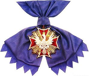 Order of the White Eagle (Poland) - Image: Order of White Eagle Poland