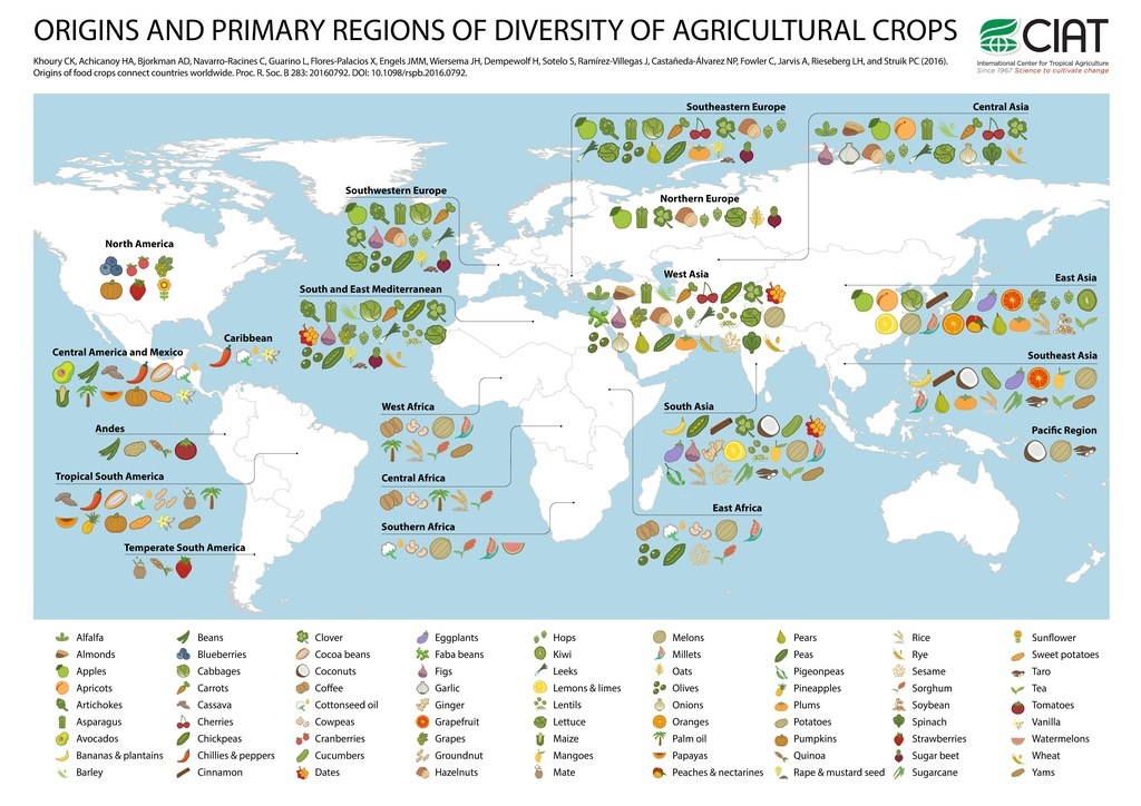 File:Origins and primary regions of diversity of selected ...