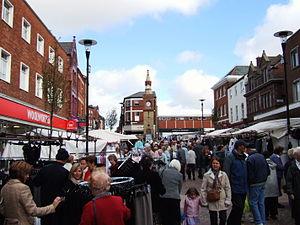 Ormskirk - Image: Ormskirk market