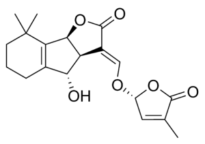 Strigolactone - Chemical structure and numbering of orobanchol