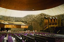 Kostel na Temppeliaukio
