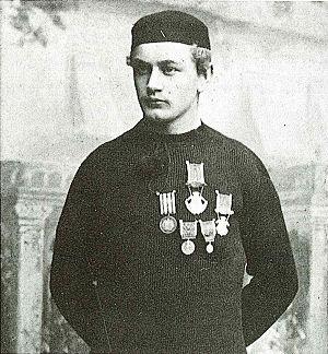 Oskar Fredriksen (speed skater) -  Oskar Fredriksen