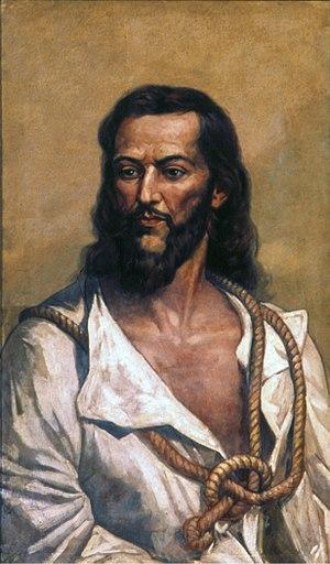 Tiradentes - Joaquim José da Silva Xavier, known as Tiradentes.