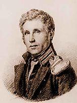 The officer of the Russian Navy of German origin and three-time circumnavigator Otto von Kotzebue (1787–1846)