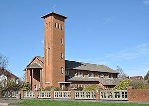 Hillside, Merseyside - Our Lady of Lourdes and St. Joseph Church, Hillside