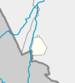 Outline map of Magas, on the map of Ingushetia.png