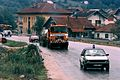 Overweight load transport in Bosnia, 1996.JPEG