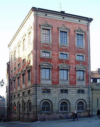 Axel Oxenstierna - Oxenstiernska Palace