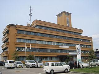 Oyabe, Toyama City in Chūbu, Japan